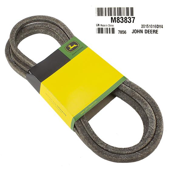 JOHN DEERE #M83837 TRACTION DRIVE V-BELT