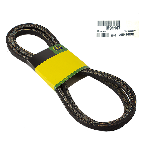 JOHN DEERE #M91147 PRIMARY MOWER DECK DRIVE V-BELT