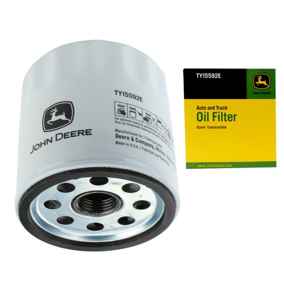 JOHN DEERE #TY15592E ENGINE OIL FILTER