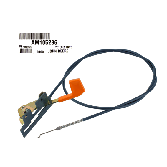 John Deere #AM105286 Throttle Cable