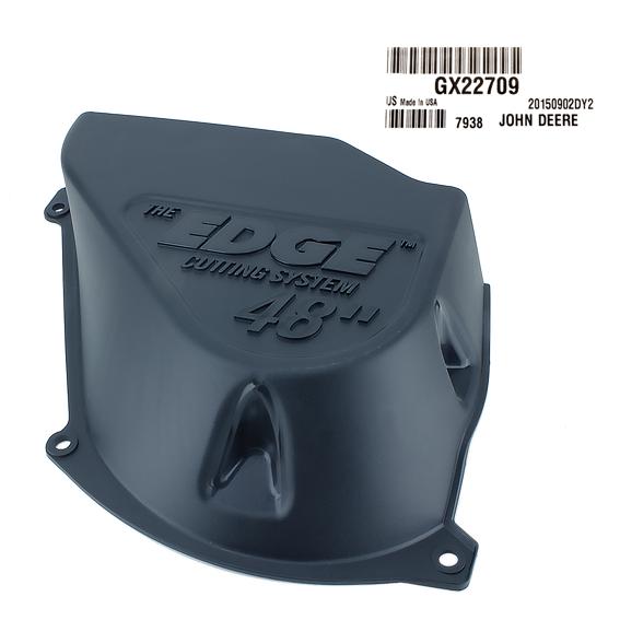 JOHN DEERE #GX22709 LEFT HAND MOWER DECK SHIELD