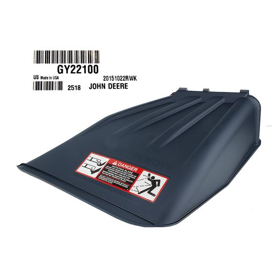 JOHN DEERE #GY22100 MOWER DECK DISCHARGE CHUTE