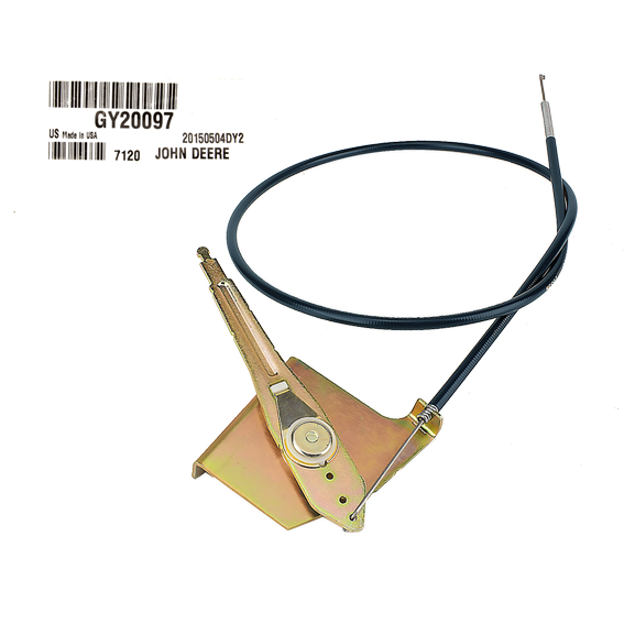 JOHN DEERE #GY20097 THROTTLE CABLE