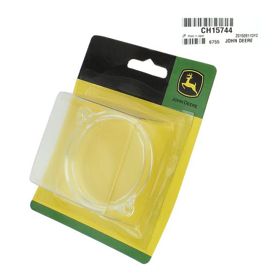 John Deere #CH15744 Fuel Tank Filler Cap Lens