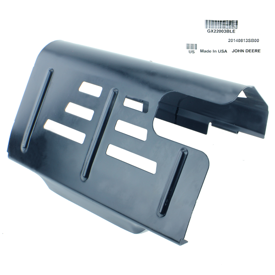 John Deere #GX22003BLE Muffler Heat Shield