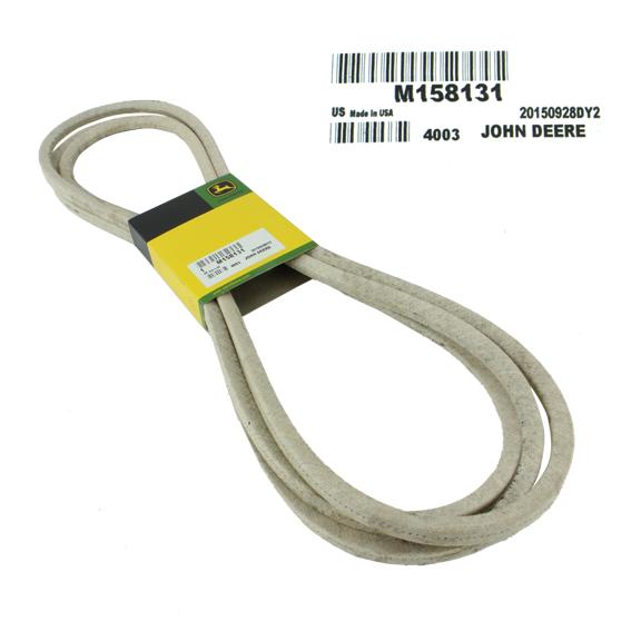 JOHN DEERE #M158131 DECK DRIVE V-BELT