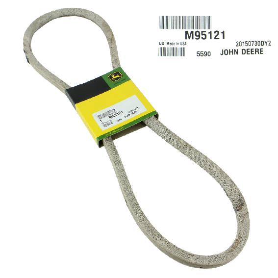 JOHN DEERE #M95121 PRIMARY DECK DRIVE V-BELT