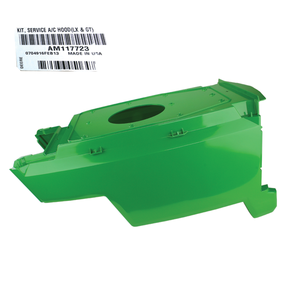 JOHN DEERE #AM117723 LOWER HOOD KIT