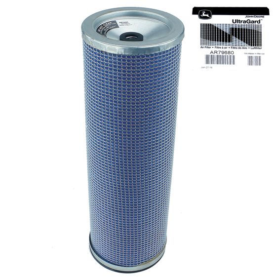 JOHN DEERE #AR79680 AIR FILTER ELEMENT