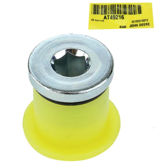 John Deere #AT49216 Hydraulic Fitting Plug