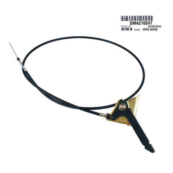John Deere #DMA210247 Throttle Control Cable