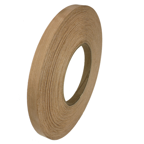 SAUERS & COMPANY 7/8 INCH X 250 FT  PRE-GLUED EDGE BANDING ROLL - CHERRY