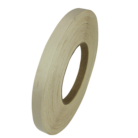 SAUERS & COMPANY 7/8 X 250 FT. PRE-GLUED EDGE BANDING ROLL - WHITE MAPLE