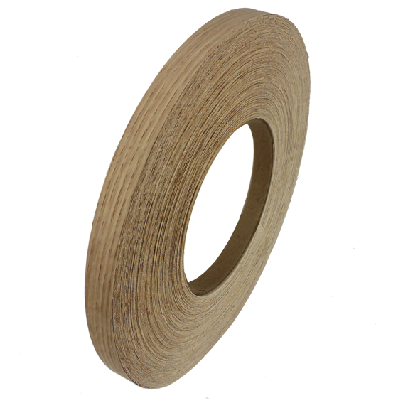 SAUERS & COMPANY 7/8 INCH X 250 FT  PRE-GLUED EDGE BANDING ROLL - WHITE OAK
