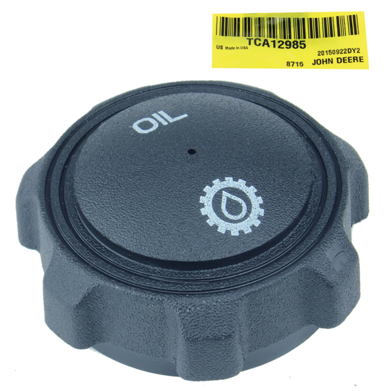 John Deere #TCA12985 Hydraulic Reservoir Cap