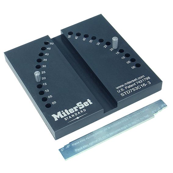 MiterSet Miter Gauge Setting Jig - Standard