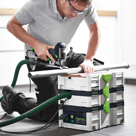 FESTOOL CT SYS DUST EXTRACTOR - IN USE #2
