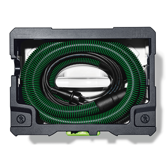 FESTOOL CT SYS DUST EXTRACTOR - TOP VIEW - HOSE GARAGE