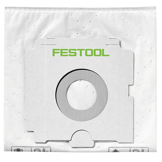 Festool 500438 CT SYS Self Cleaning Filter Bags, 5 ct