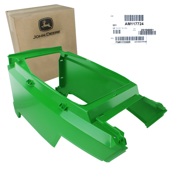 JOHN DEERE #AM117724 HOOD KIT