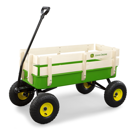 Ertl John Deere Stake Wagon