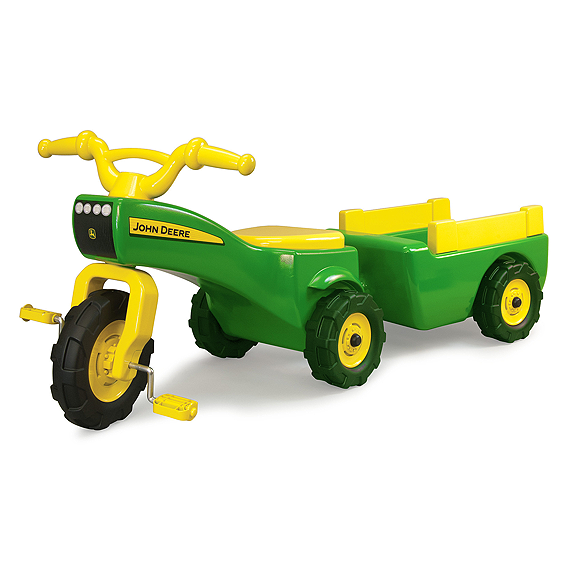 Ertl John Deere Pedal Tractor and Wagon