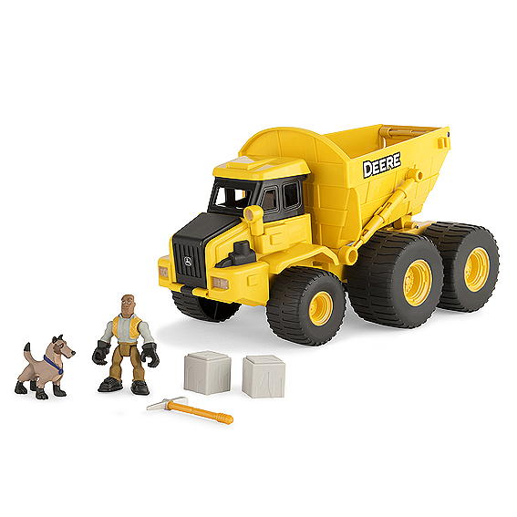 Ertl John Deere Gear Force Earth Moving Dump Truck