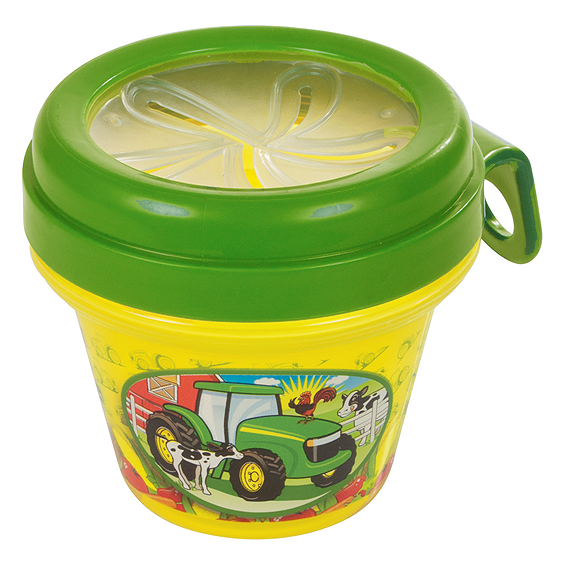 ERTL JOHN DEERE CHILDREN'S SNACK CONTAINER