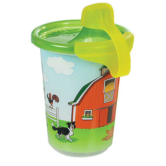 First Years John Deere Take & Toss 10 Oz  Sippy Cups - 3 Pk