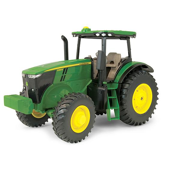 Ertl John Deere 1:16 Scale Model 7R Series Tractor With Model Number Decal Sheet