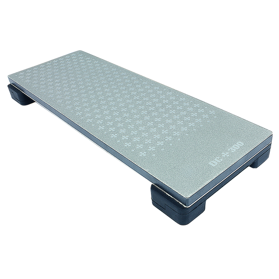 M-POWER Diamond Cross 8 Inch Bench Stone - 300 / 1000 Grit