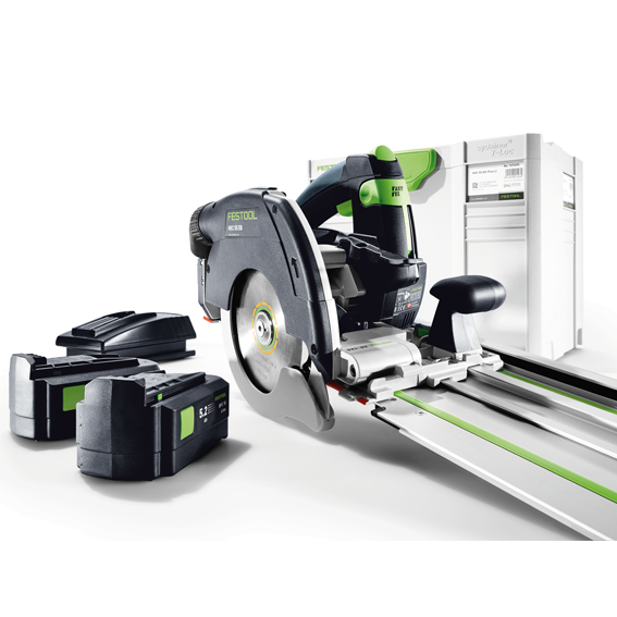 Festool 201374 HKC 55 EB + FSK420 Cordless Carpentry Saw