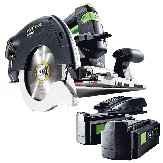 FESTOOL  201371 HKC 55 EB PLUS CORDLESS CARPENTRY SAW