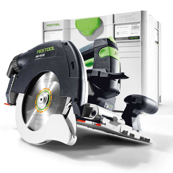 Festool 201359 HKC 55 EB Basic Cordless Carpentry Saw