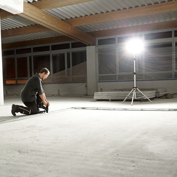 FESTOOL SYSLITE DUO WORK LIGHT SET - IN USE