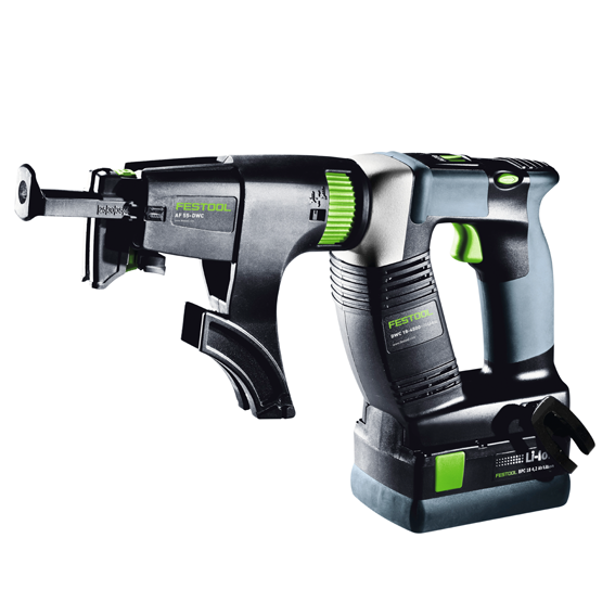 FESTOOL DWC 18-4500 CORDLESS DRYWALL GUN PLUS