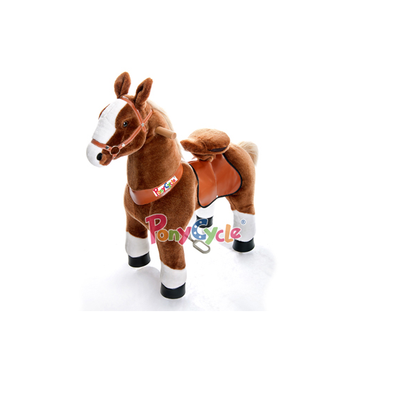 PonyCycle - Medium Brown With White Blaze & Socks