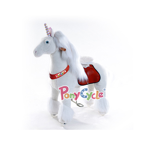 PonyCycle - Medium White Unicorn