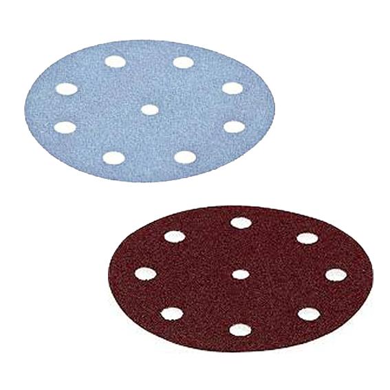 Hartville Tool 64 Pc  Festool 125mm Rubin 2 / Granat Disc Sandpaper Sampler Pack