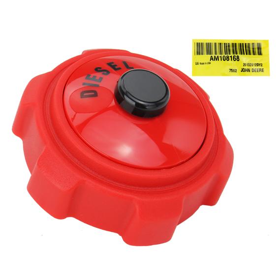 John Deere #AM108168 Diesel Fuel Tank Cap