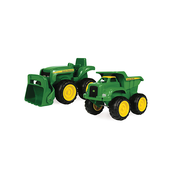 Tomy John Deere Sandbox Vehicles 2 Pack