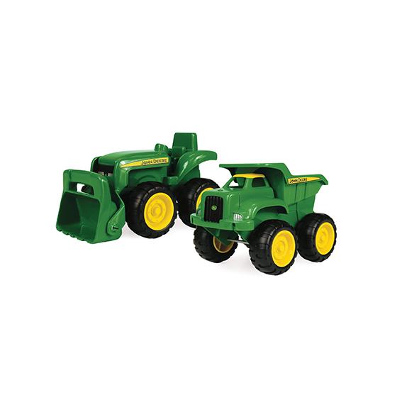 Tomy John Deere Sandbox Vehicles 2 Pack
