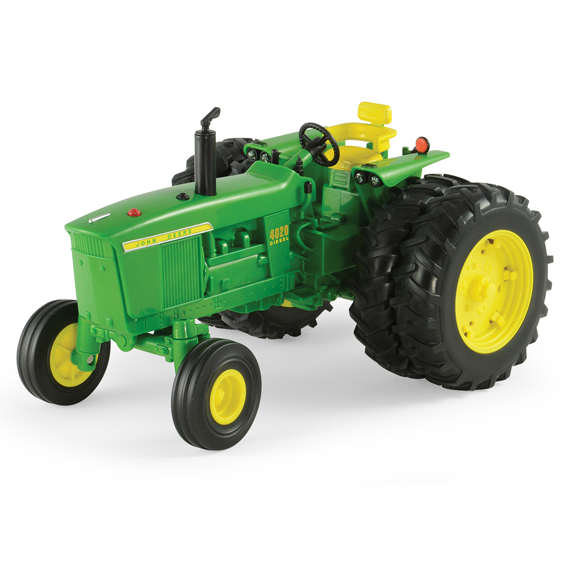 Ertl Big Farm John Deere 4020 Tractor With Duals