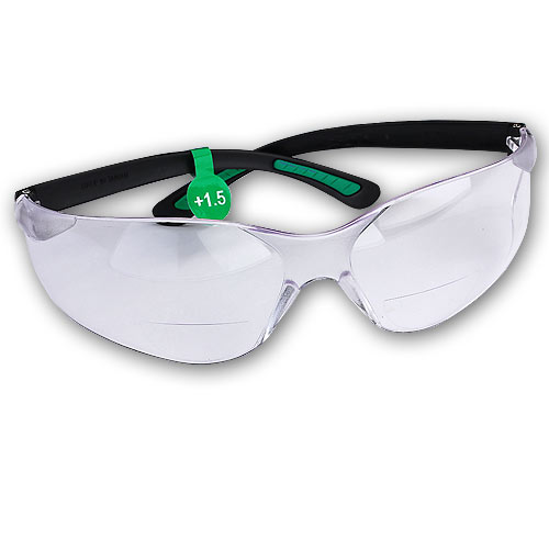 FastCap Catseye Safety Mag Glasses - 1 5 Diopter