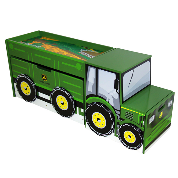 Ertl John Deere Toy Box Set