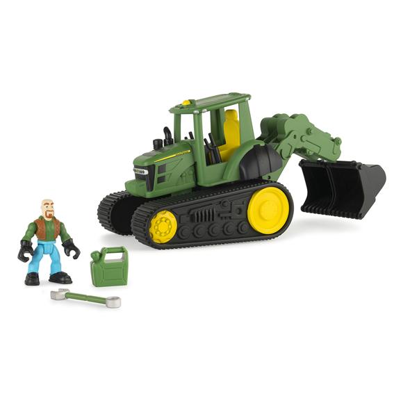 Ertl John Deere Gear Force Mega Scoop Tractor
