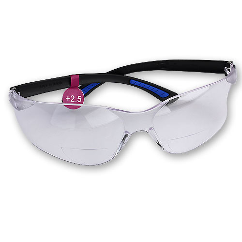 FastCap 2 5 Diopter Catseye Safety Mag Glasses