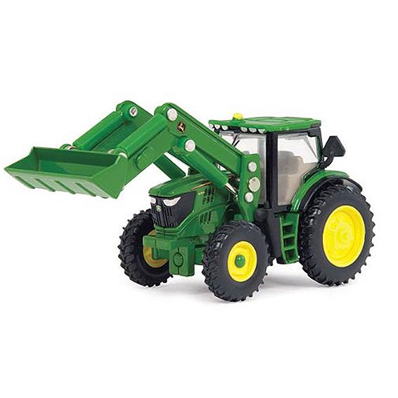 Ertl John Deere 1:64 Scale Model 6210R Tractor With Loader
