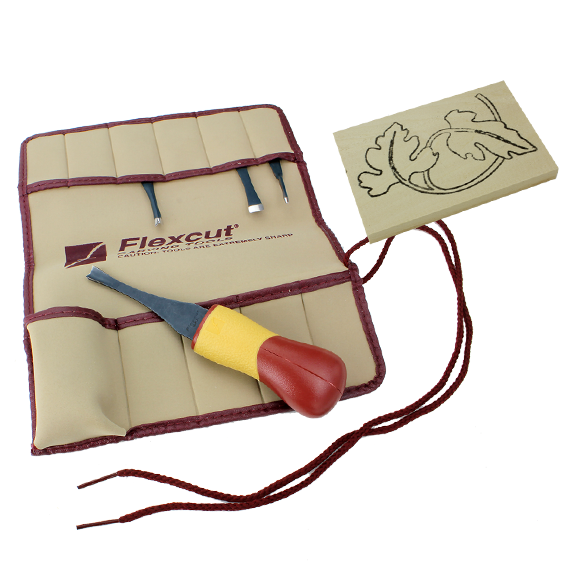 Flexcut #SK106 5 Pc  Craft Carver Set