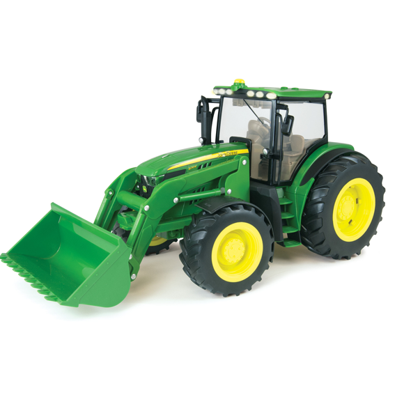 Ertl John Deere Big Farm 1:16 Scale Model 6210R Tractor With Loader